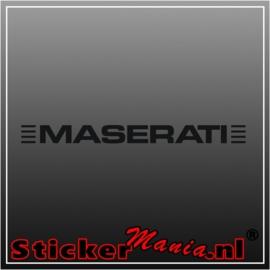 Maseratie 1 sticker