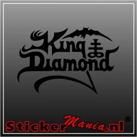 King diamond sticker