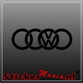 Audi/vw sticker