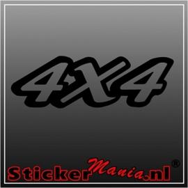 4x4 12 sticker