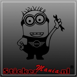 Minion mini sticker