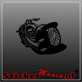 Motor 6 sticker