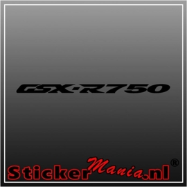 Suzuki GSX R750 sticker