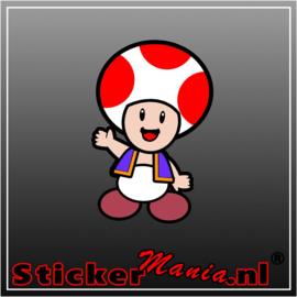 Toad Full Colour sticker