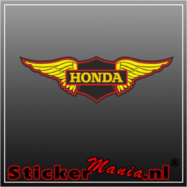 Honda wing full colour sticker