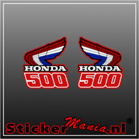 Honda 500 set full colour stickers