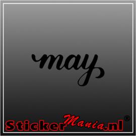 May sticker