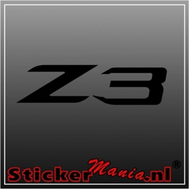BMW Z3 sticker