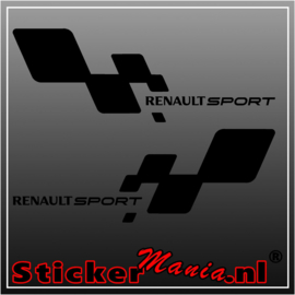 Renault sport set sticker