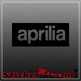 Aprilia 1 sticker