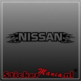 Nissan flames 2 raamstreamer