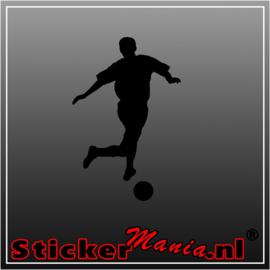 Voetbal 6 Sticker