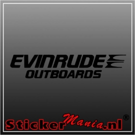 Envinrude sticker