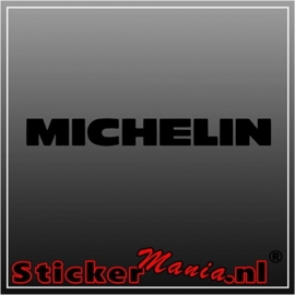 Michelin 1 sticker