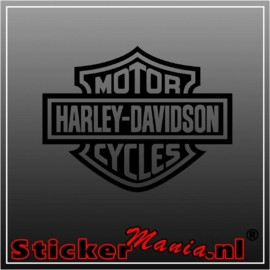 Harley davidson motor cycles sticker
