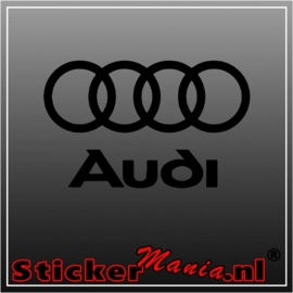 Audi logo 1 sticker