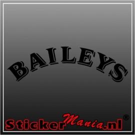 Baileys sticker