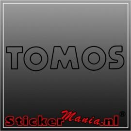 Tomos sticker