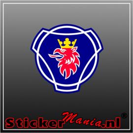 Scania logo Full Colour sticker