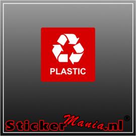 Plastic vierkant