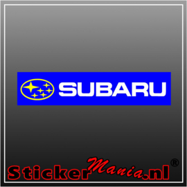 Subaru Logo Full Colour sticker