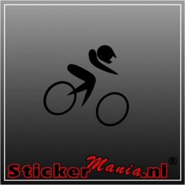 Race bike sticker