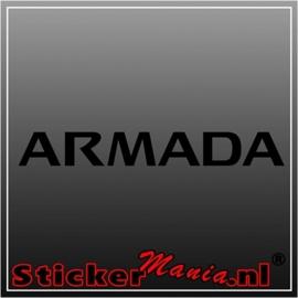 Nissan armada sticker