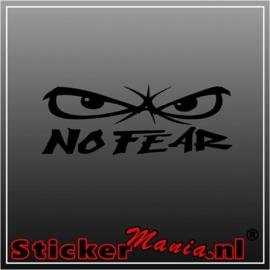 No fear 3 sticker