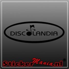 Discolandia sticker