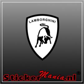 Lamborgini Logo Full Colour sticker