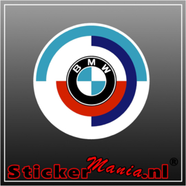 BMW motorsport full colour sticker