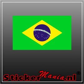 Brazilië Full Colour sticker