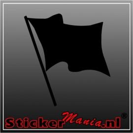 Enkele vlag 3 sticker