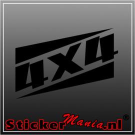 4x4 14 sticker