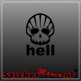 Skull 19 sticker