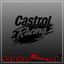 Castrol racing sticker