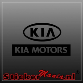 Kia motors sticker