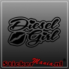Diesel girl sticker