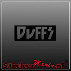 Duffs sticker