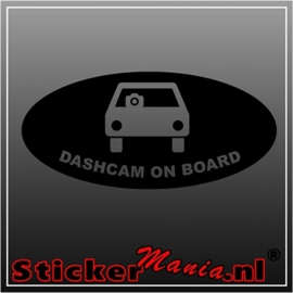 Dashcam on board sticker