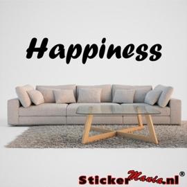 Happiness muursticker