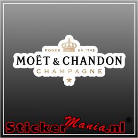 Moët & Chandon Full Colour sticker