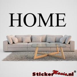 Home muursticker