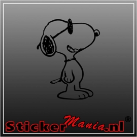 Snoopy 2 sticker