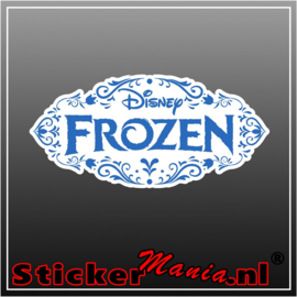Frozen full colour sticker