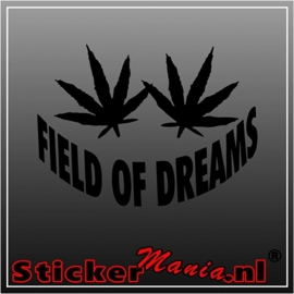 Field of dreams sticker