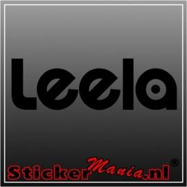 Leela sticker