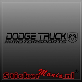 Dodge truck motorsports sticker