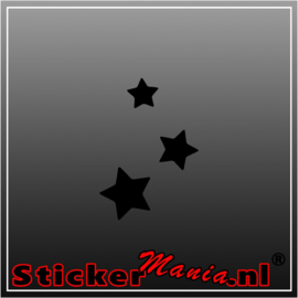 Sterren Sticker Glow in the dark