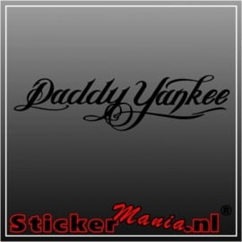 Daddy yankee sticker
